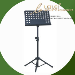 Deluxe Orquesta plegable Atril - Negro (MSS2)
