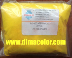 Fibra de polímero de pigmento amarelo Disazo Nylon 93