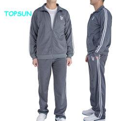 Mens Outono esticar de Treino Joggers Definir Sports vestuário exterior de desgaste com o logotipo personalizado