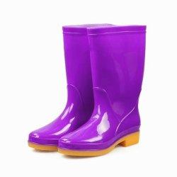 Chuva de PVC botas para Mulheres em GUANGZHOU