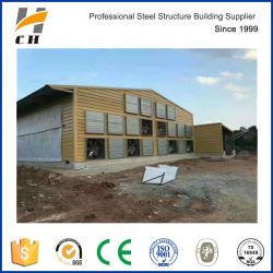 Alto nivel de ventilación de forma totalmente automática de la casa de aves de corral de pared y techo que cubre a la venta