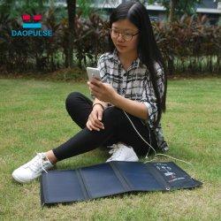Étanche portable haute qualité 21W Puissance solaire Chargeur Mobile pour une utilisation en extérieur pour ordinateur portable