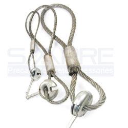 Seilsicherung Seilringkupplung für Plattenanker