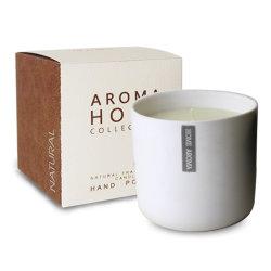 Vela Perfumada de aroma em cor preta e prateada spray de adesivo jarra de vidro de acabamento de papel com caixa de oferta para a decoração das casas e promoção