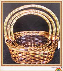 Salgueiro Dom Flores de armazenamento de vime cestas de armazenamento