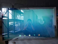 21,5 pulgadas LCD de pantalla de publicidad interactiva de información Espejo mágico de la red multimedia HD del reproductor de anuncio de Vídeo Digital Signage pantalla táctil quiosco