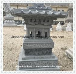 Piedra de las artes de China -- Birdcage de piedra al templo
