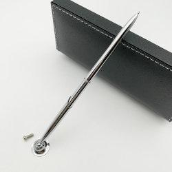 Bolígrafo de metal para la Oficina de Negocios Hotel Contador Banco Bolígrafo de giro Slim Pen de Recepción de publicidad