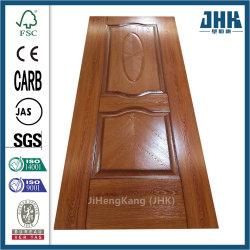 Flache festes Holz-Kern-Bauholz-Melamin geformte Tür