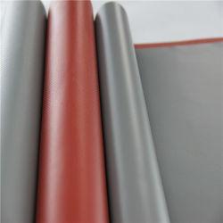 Strukturiertes Friktions-Oberflächen-Silikon-Gummi-überzogenes Fiberglas-Tuch
