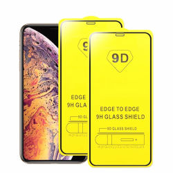 iPhone 8을%s 9d 스크린 프로텍터 iPhone x Xs를 위한 7개의 6개의 더하기 강화 유리 11 12 직업적인 최대