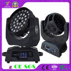 Mini-LED beweglicher Kopf des Disco-Geräten-36X18W 6in1 der Wäsche-