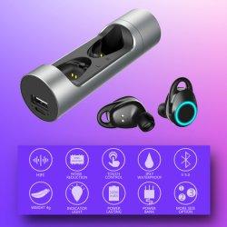 5.0 Tws Airtwins новых беспроводных наушников изображения 3D-наушники стерео звука ухо разговор Earset двойного назначения