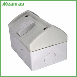 Wetterfester industrieller Kontaktbuchse-Anschluss mit 1 Gruppe-Schalter