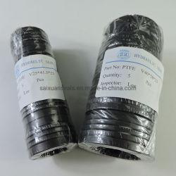 Черный PTFE заполнены углерода/Graphoil/Мо Vee уплотнения