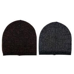 女性の冬の暖かい方法編む Lurexy 帽子の帽子の帽子の帽子の帽子の帽子