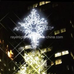 Árbol de Navidad Decoración de Navidad Estrella de la luz de Motif