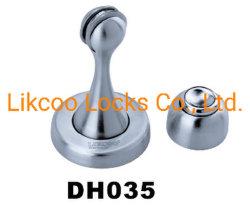 Butée de porte en acier inoxydable pour les portes en verre et portes en bois (DH035)