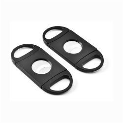 Forbici di plastica Pocket delle lamierine del doppio della lama della taglierina di sigaro dell'acciaio inossidabile