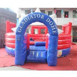 Gladiator Gladiator Joust redonda cúpula inflable para niños
