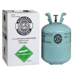13.6kg cilindro descartáveis Freon Refrigerante R 134 um gás