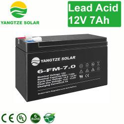 12V 7Ah 20hr SMF de pequenos accionistas de Chumbo-Ácido bateria VRLA para UPS/emergência/Sistema de Telecomunicações