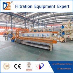 Dazhang nova câmara tecnologia prensa-filtro para o minério de ferro filtrado de retrilha
