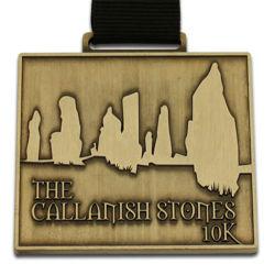 アンティークブラススポーツメタルマラソンメダルメダルフレームキーチェーンロゴ