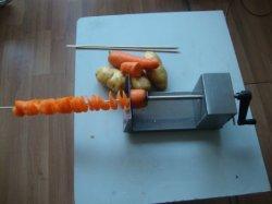 Mango de acero inoxidable Tornado Cortadora de papas con BR321