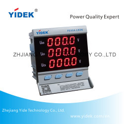Yidek hohe Genauigkeit Multiole Größen-auserwählter Digital-Panel-Voltmeter
