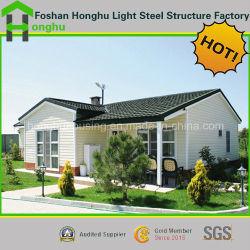 Casa móvil de lujo prefabricados prefabricados Villa/casa chalet de madera prefabricados modulares para la vida