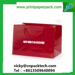 Het Af:drukken van de douane doet en détail de Maat Verpakkende Zakken Van uitstekende kwaliteit van de Handtas van de Gift van de Zak van het Document van de Gift van het Document van Zakken Verpakkende Verpakkende Kosmetische Vastgestelde Verpakkende in zakken