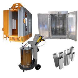 アルミニウムプロフィールのための静電気の粉の絵画コートのスプレー装置