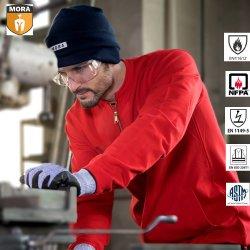 100% Fr хлопка безопасности для использования вне помещений огнестойкие куртки