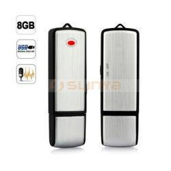1つの4GB 8GB 16GBのフラッシュ駆動機構USBの健全なボイスレコーダに付きスイッチ2つを離れて