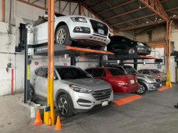 Hoge Auto Op twee niveaus 2 van het Been van de Kolom van de Motor van Mutrade van het Eind Elektro Elektrische Hydraulische de PostLift van het Parkeren