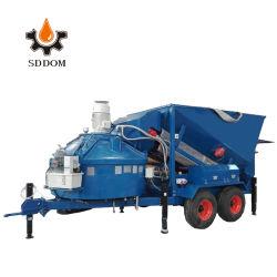 20m3/H mezcla húmeda Hormigonera Máquina, planta de procesamiento por lotes de Hormigón Móviles