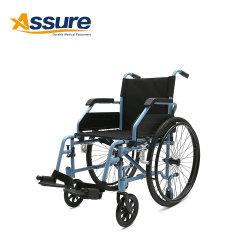 China no ligero de aleación de aluminio plegable eléctrica silla de ruedas manual