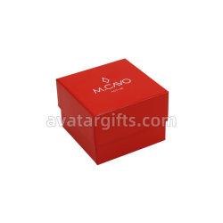 Joyero de terciopelo de lujo personalizado Collar de perlas Caja de regalo