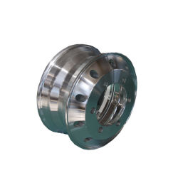 Llanta de aluminio forjado. Carretilla aluminio Aro (22,5x13 22,5x14, 22,5X11.75, 22,5 X9.00)
