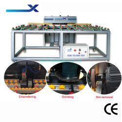磨く機能を処理する溝を彫る継ぎ合わせるエッジングのためのZx-Bk1212水平のタイプガラス粉砕機の粉砕機の機械装置