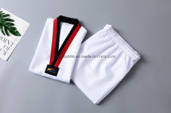 2019 Uniformen de van uitstekende kwaliteit van Itf Taekwondo van Vechtsporten voor de HoofdSlijtage van de Opleiding