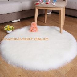 Coperta Shaggy della pelle di pecora del sofà del salone della stanza della base di moquette della coperta del Faux della coperta di lusso e molle della pelliccia