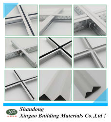 Metallrasterfeld-Rahmen-verschobene Decke T-Stab