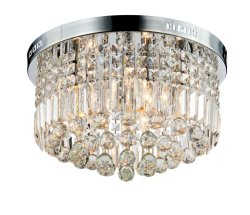 Современные K9 Raindrop Crystal люстры для утопленного монтажа светодиодные потолочные лампы