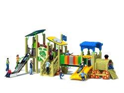 De houten Plastic Binnen/OpenluchtSpeelplaats van Kinderen (yl-M047)