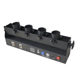 Cuatro disparos de cañón Confetti de la boda de la máquina Shot lanzador confeti DMX