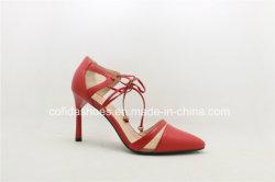 2016 مثير أحمر [هي هيل] جلد نساء يتزوّج أحذية