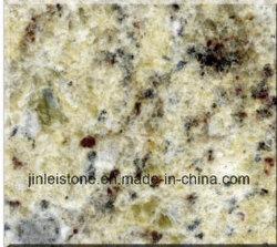 Giallo dekorative Brasilien Granit-Stein-Platten für Countertops und Bodenbelag-Fliesen