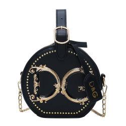 2021 Kenbo горячей стиле роскошных женщин малых кошельки и сумки дизайнерские марки дамы круглой металлической сумки